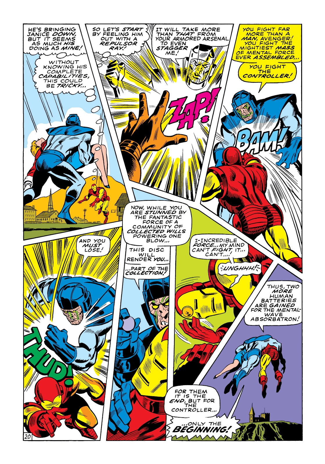 Read online Marvel Masterworks: The Invincible Iron Man comic -  Issue # TPB 5 (Part 3) - 37