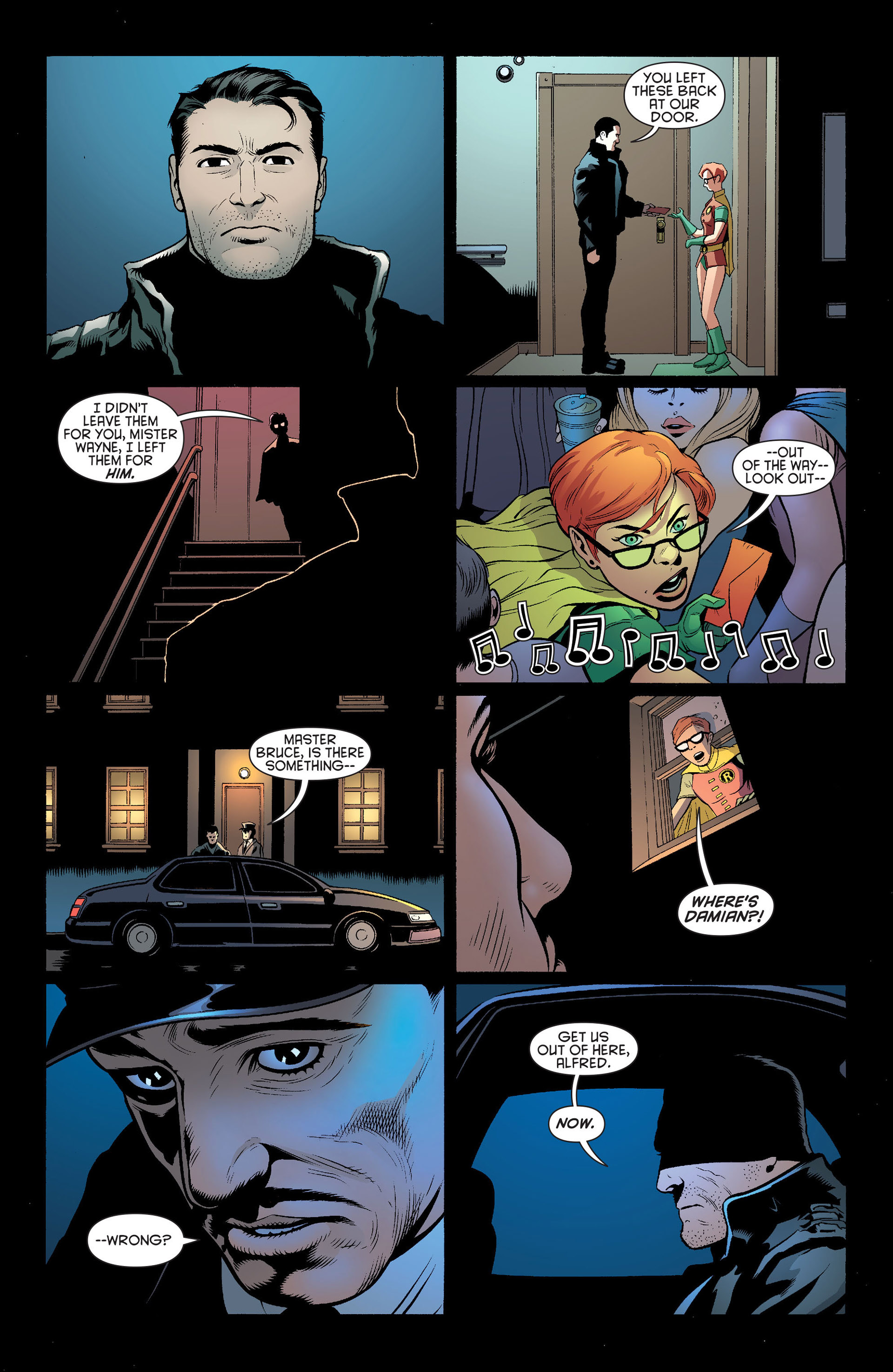 Read online Batman and Robin (2011) comic -  Issue #19 - 7