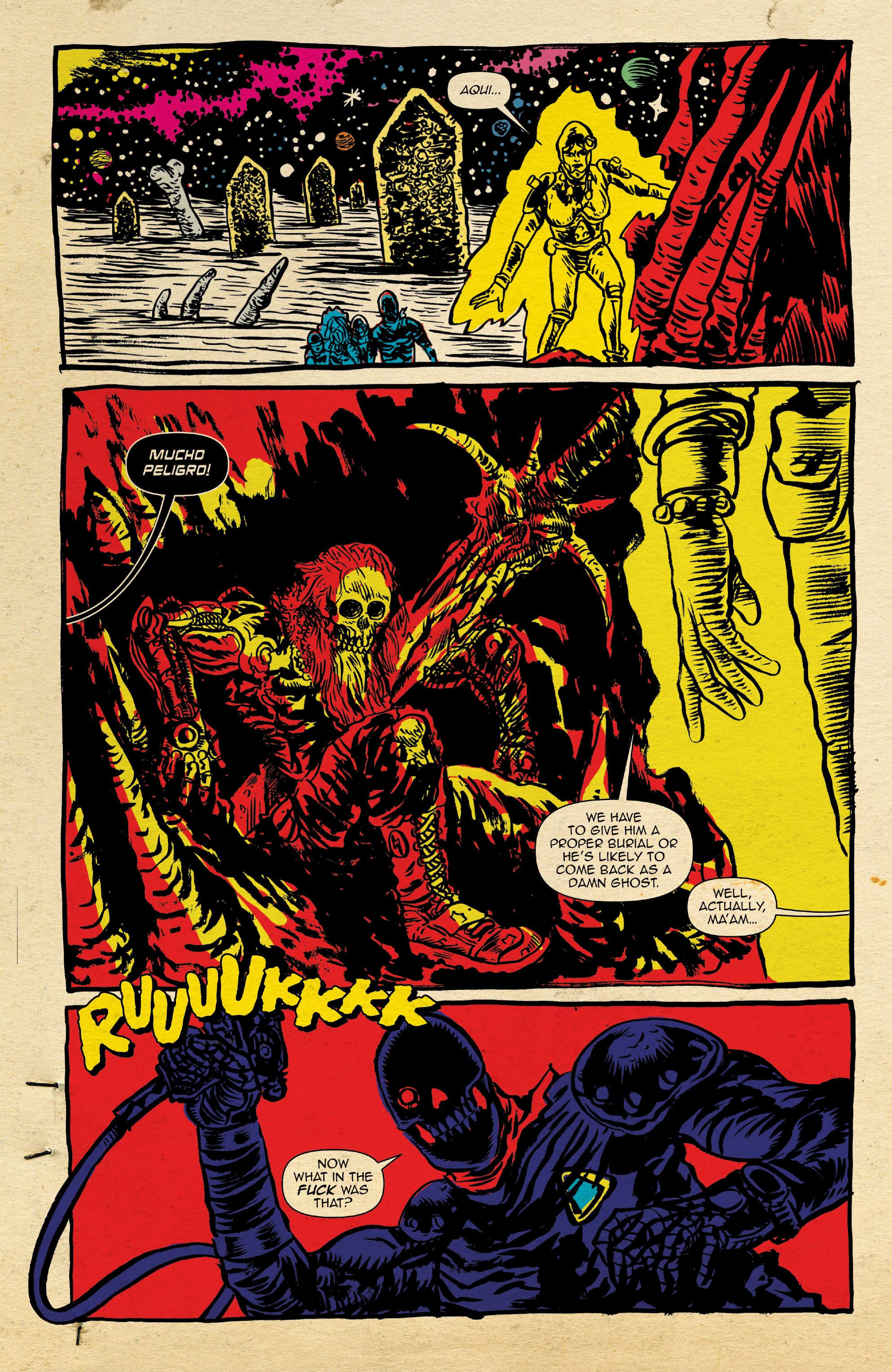 Read online Space Riders: Galaxy of Brutality comic -  Issue #2 - 16