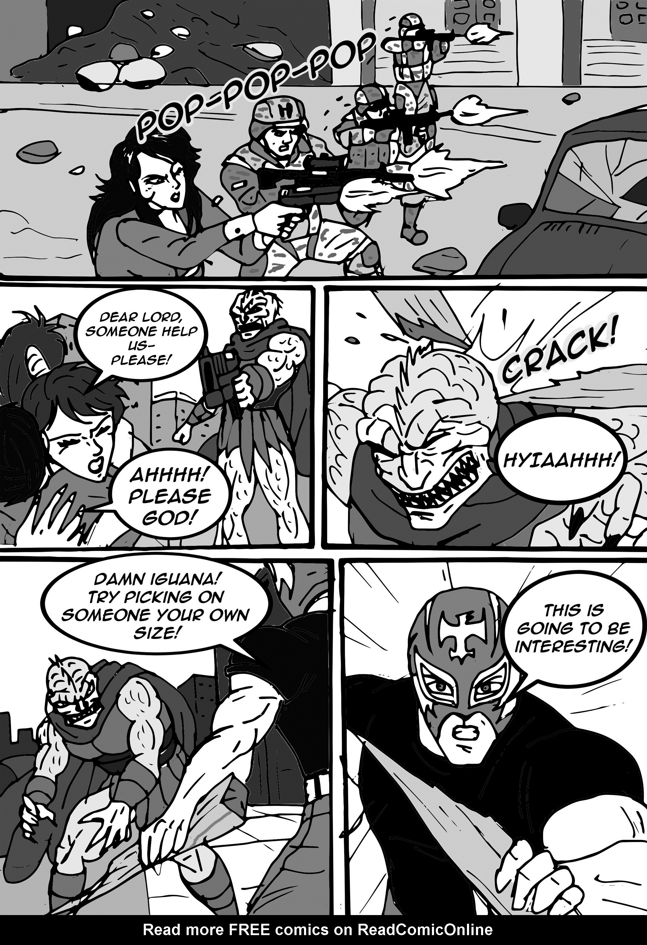 Read online Aski vs. The Draconians comic -  Issue #1 - 17
