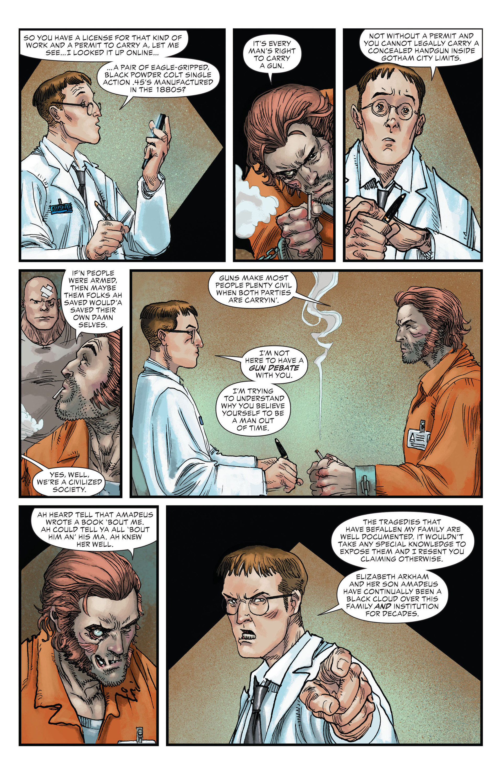 Read online All-Star Western (2011) comic -  Issue #22 - 7