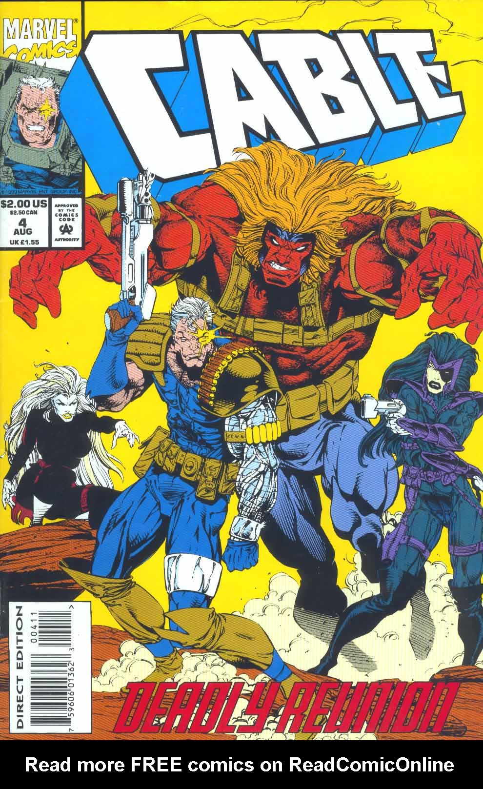 Cable (1993) 4 Page 1