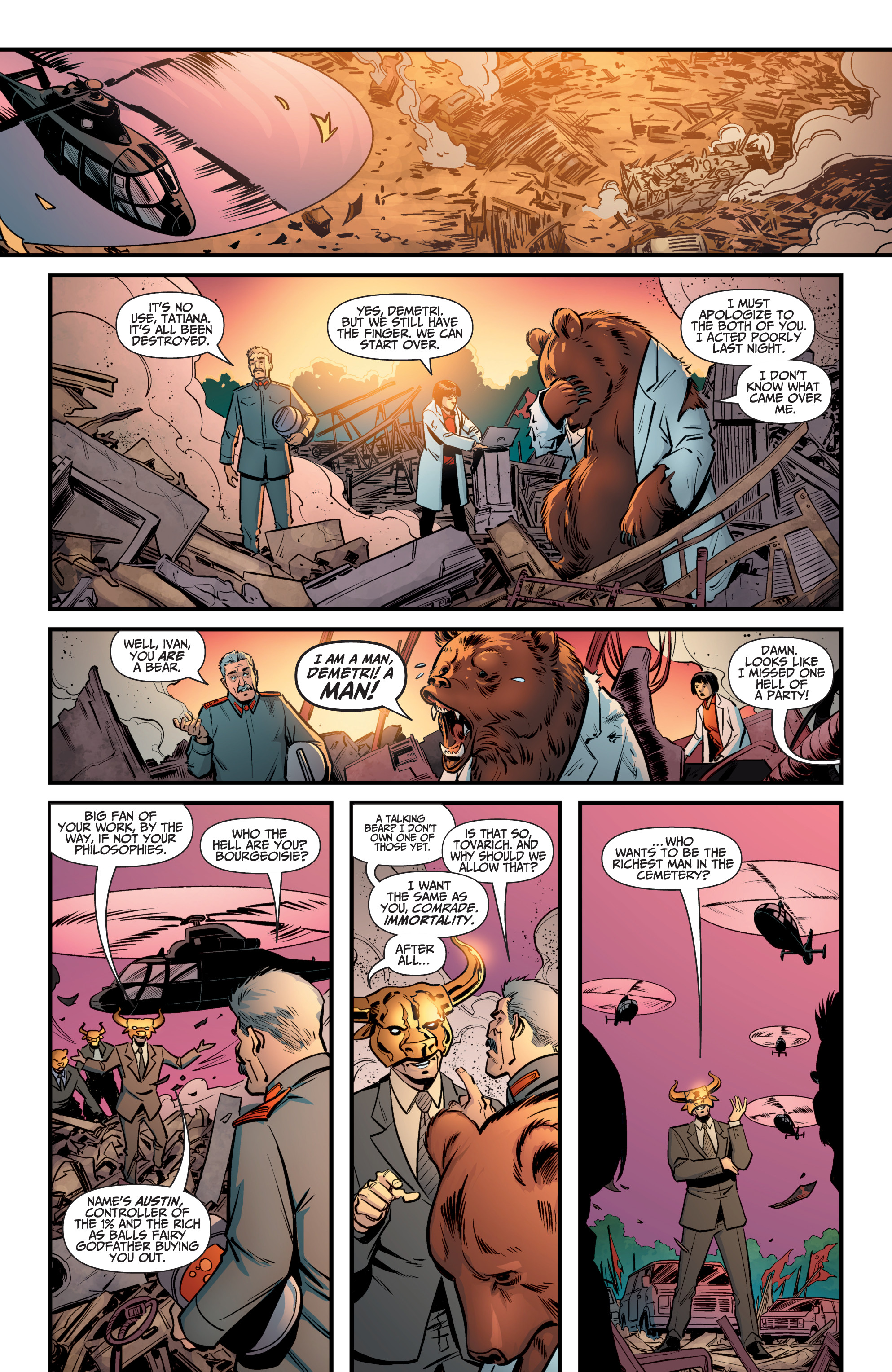 Read online A&A: The Adventures of Archer & Armstrong comic -  Issue #8 - 19