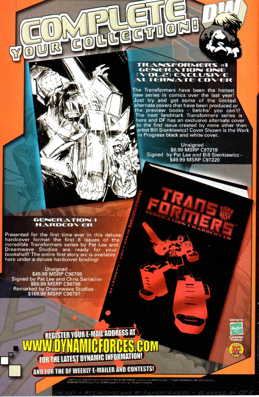 Read online Transformers Armada comic -  Issue #10 - 29