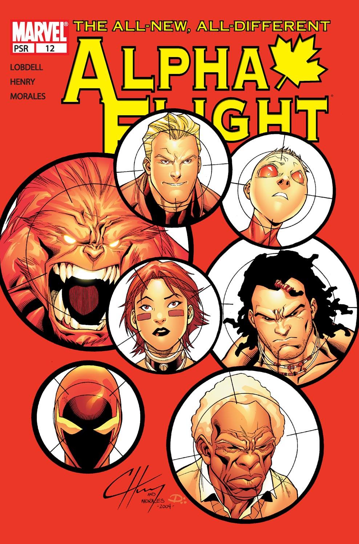 Alpha Flight (2004) issue 12 - Page 1