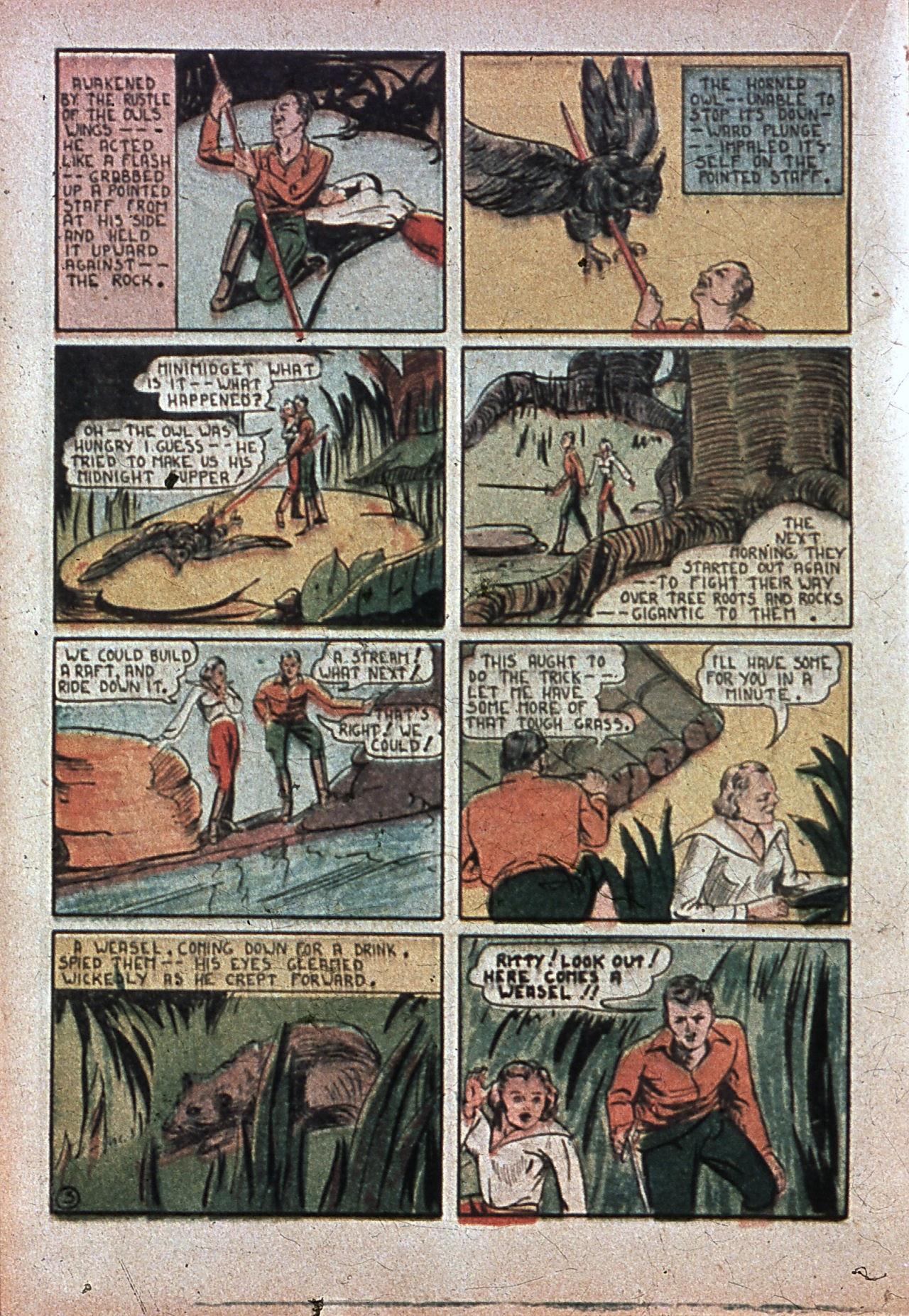 Read online Amazing Man Comics comic -  Issue #7 - 39