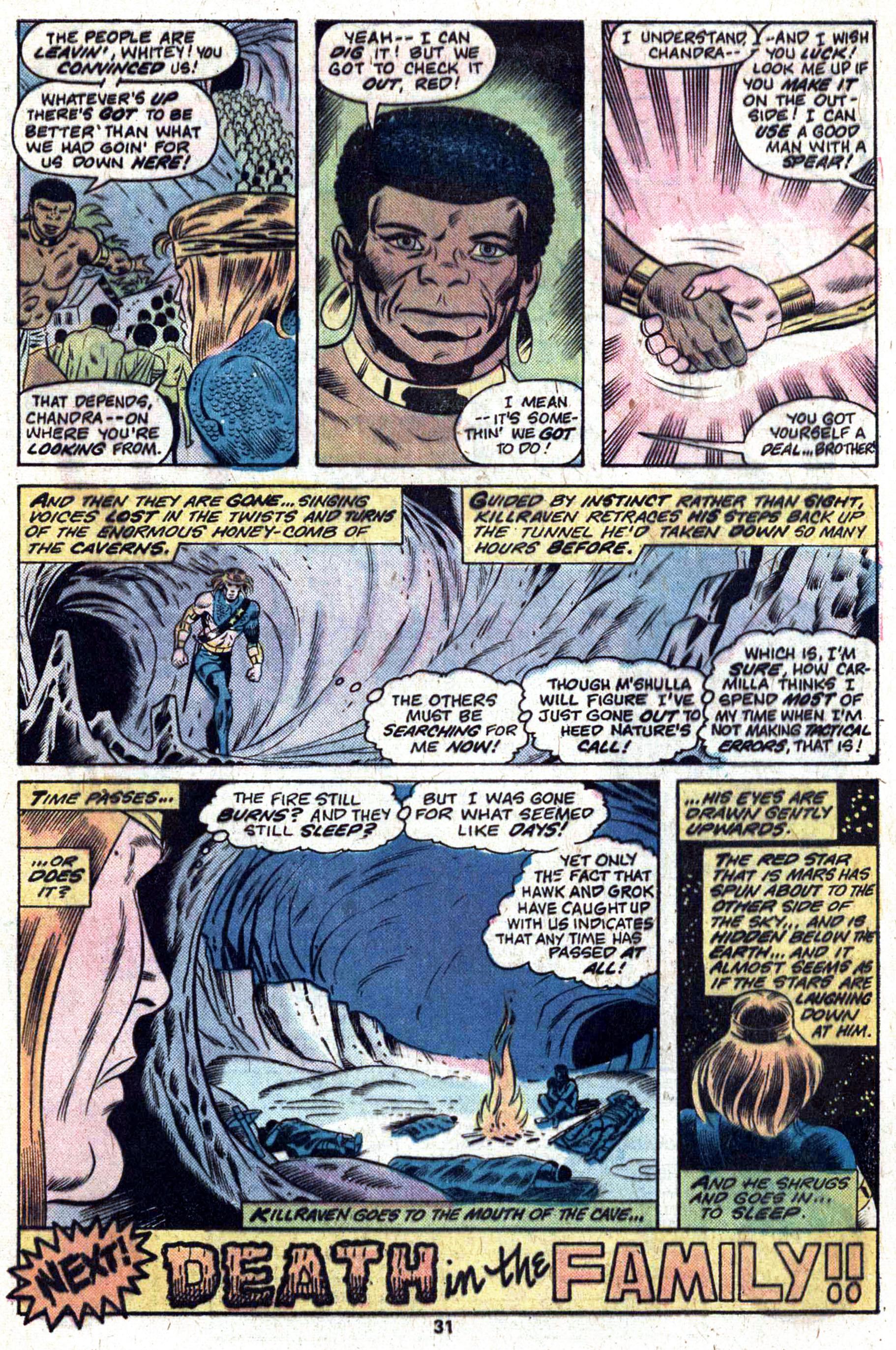 Read online Amazing Adventures (1970) comic -  Issue #33 - 32