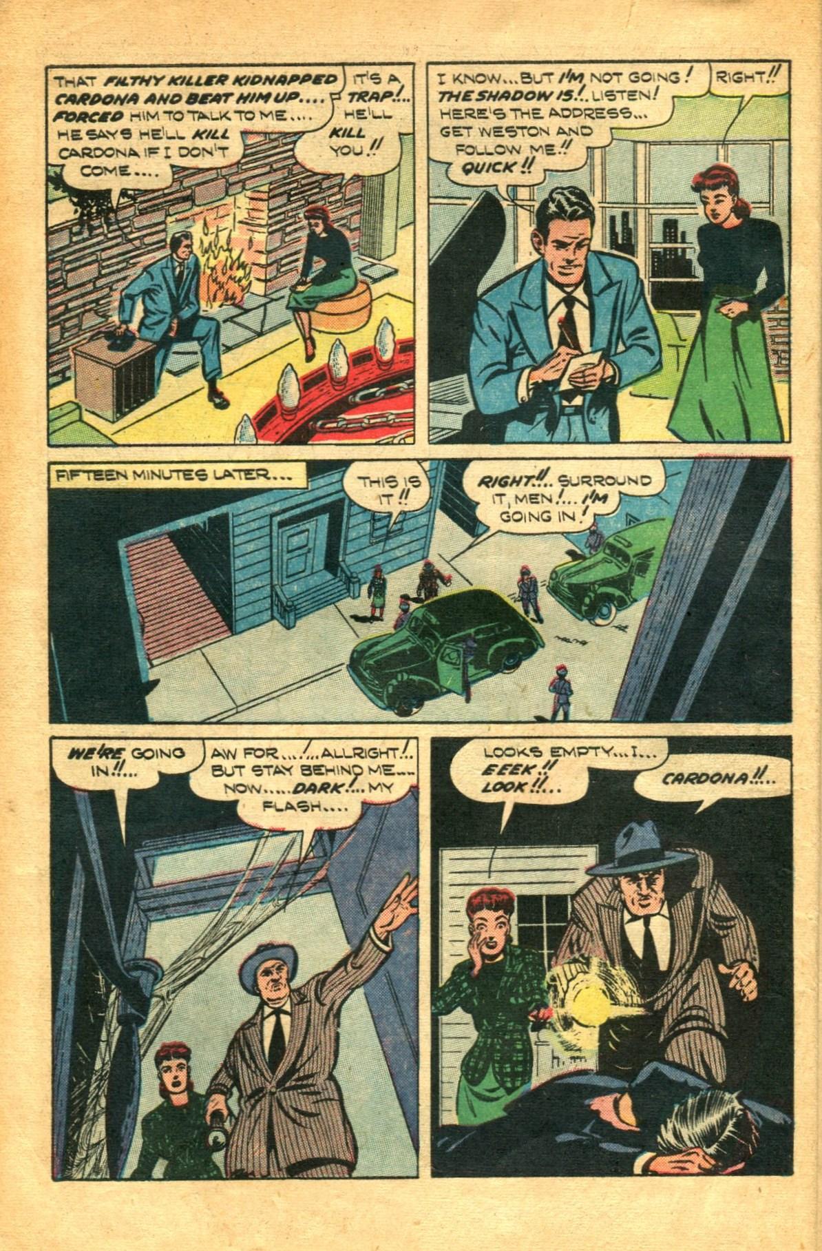 Read online Shadow Comics comic -  Issue #91 - 12