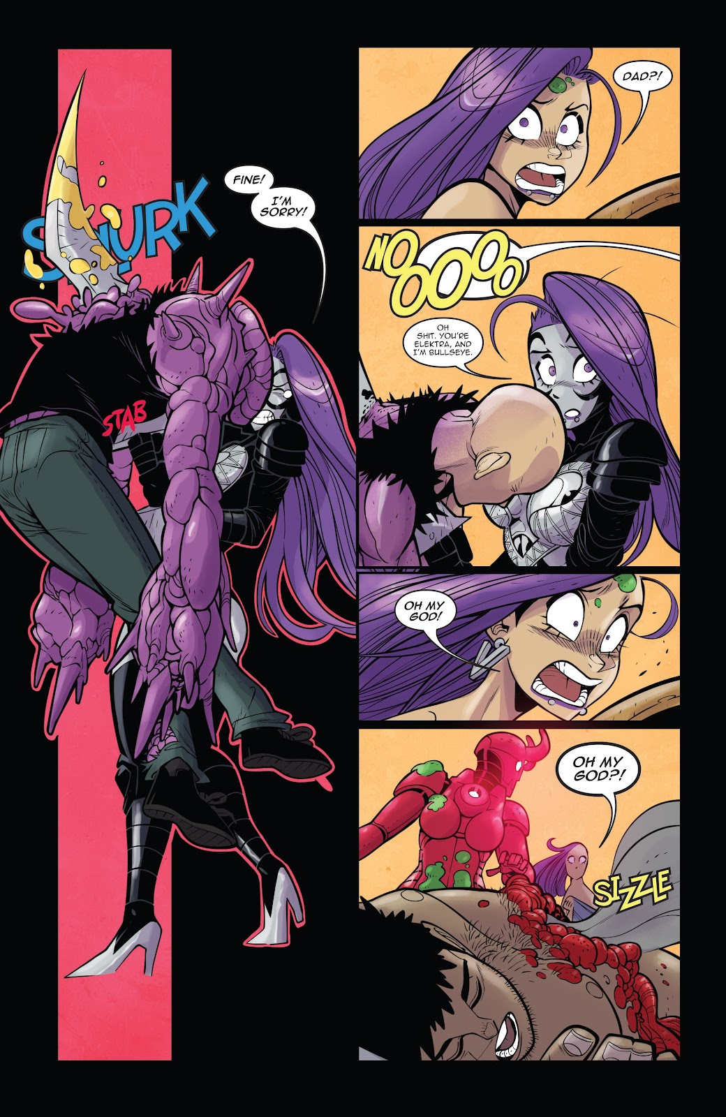 Read online Vampblade Season 3 comic -  Issue #11 - 23