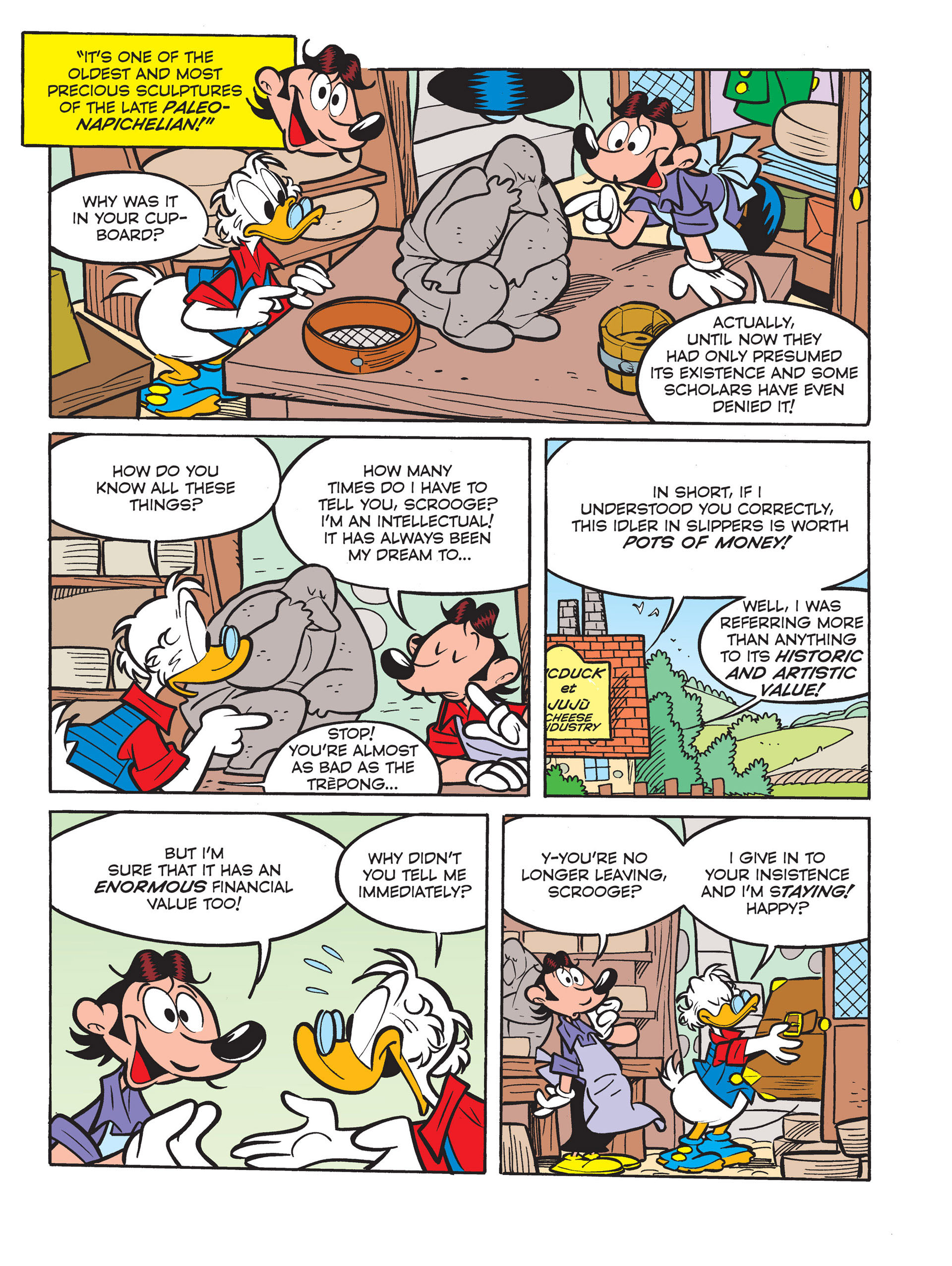 Read online All of Scrooge McDuck's Millions comic -  Issue #6 - 9
