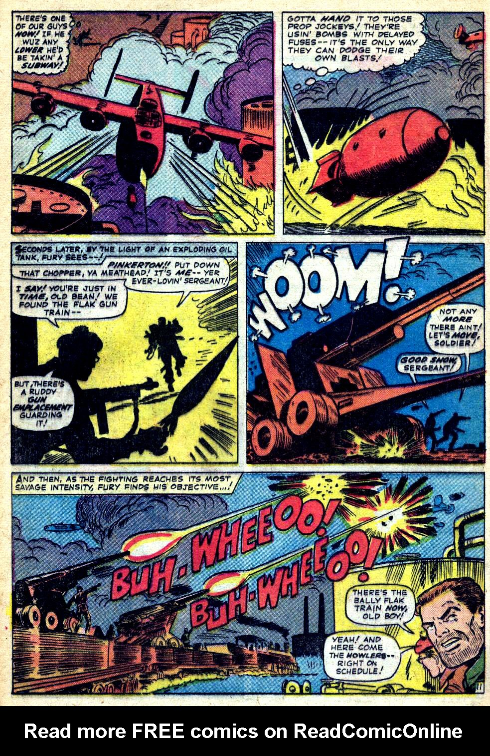 Read online Sgt. Fury comic -  Issue #22 - 16