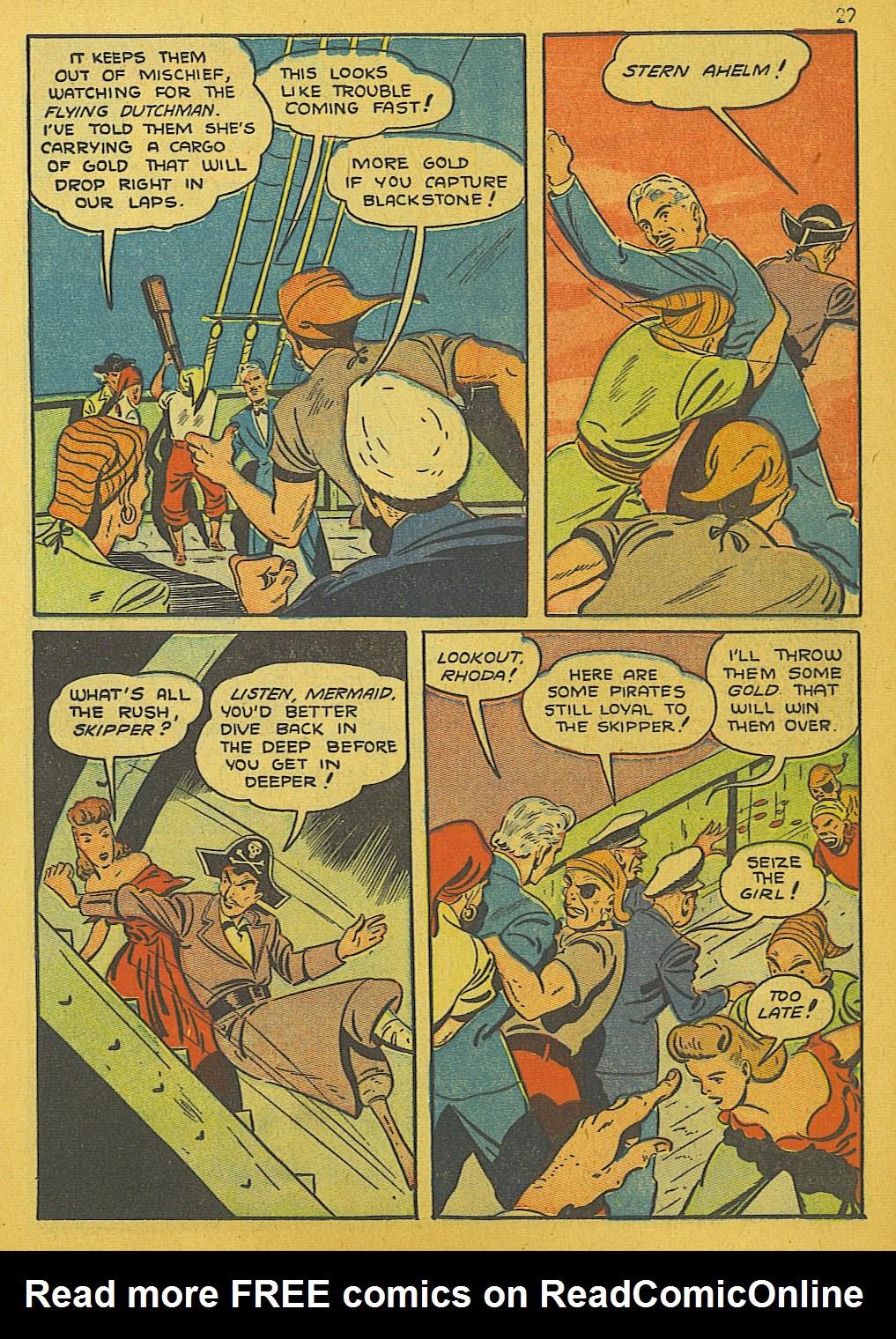 Read online Super-Magician Comics comic -  Issue #10 - 29