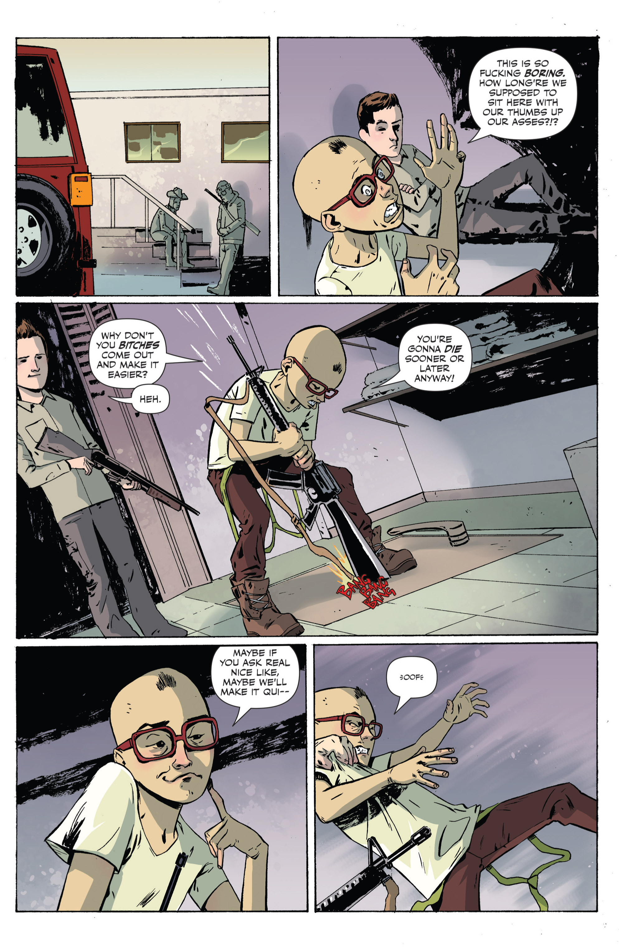 Read online Sheltered comic -  Issue #4 - 17