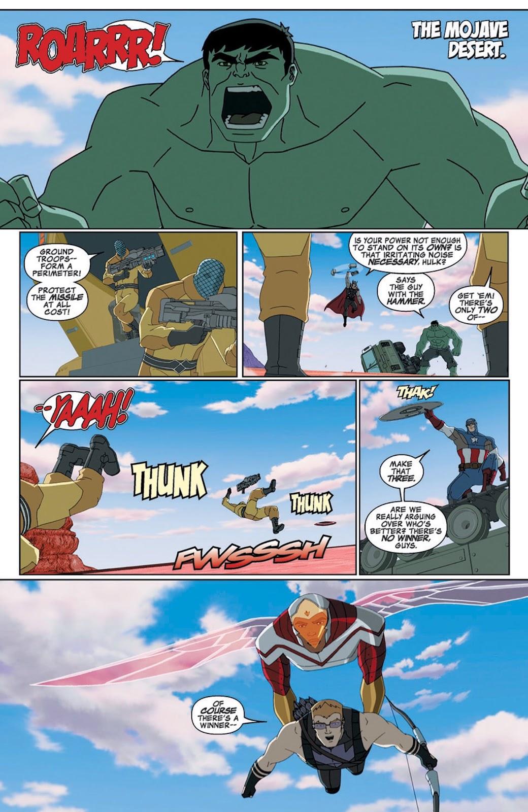 Read online Marvel Universe Avengers Assemble Season 2 comic -  Issue #8 - 3