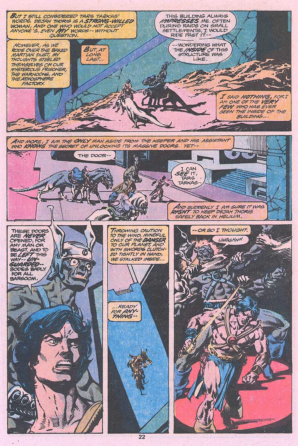 John Carter Warlord of Mars issue 2 - Page 24