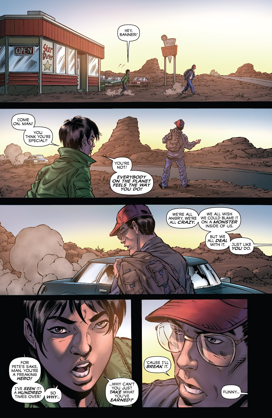 Read online Incredible Hulks (2010) comic -  Issue # _TPB Heart of the Monster - 134
