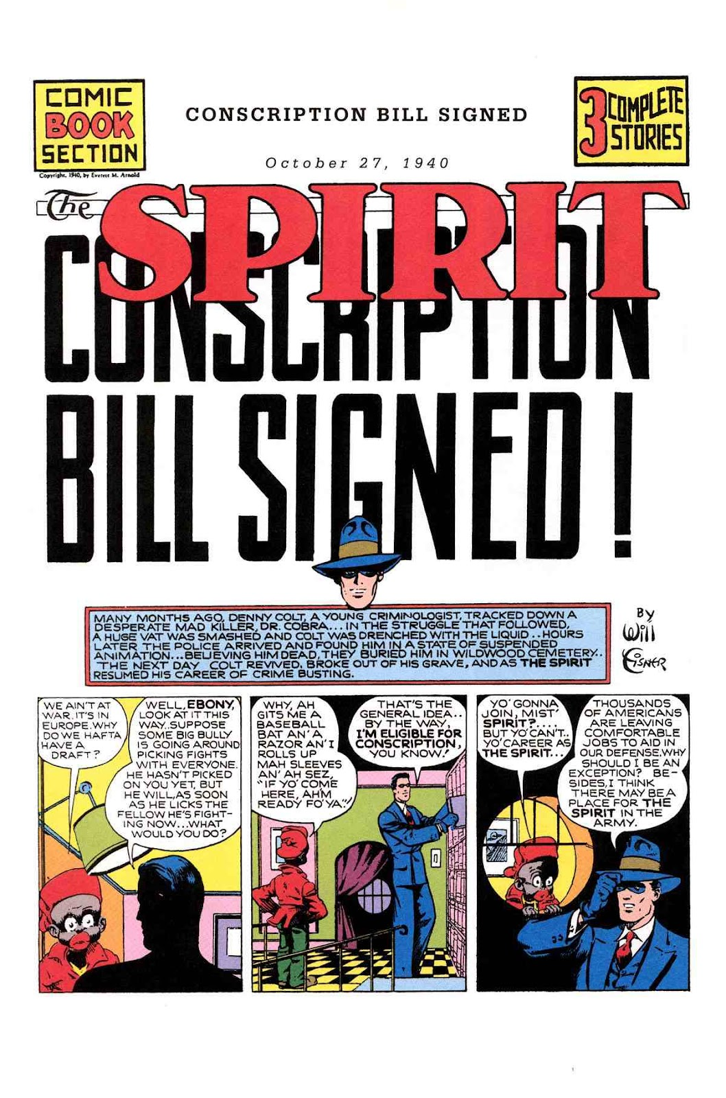 Read online Will Eisner's The Spirit Archives comic -  Issue # TPB 1 (Part 2) - 49