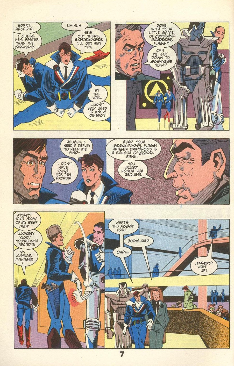 Read online American Flagg! comic -  Issue #31 - 10