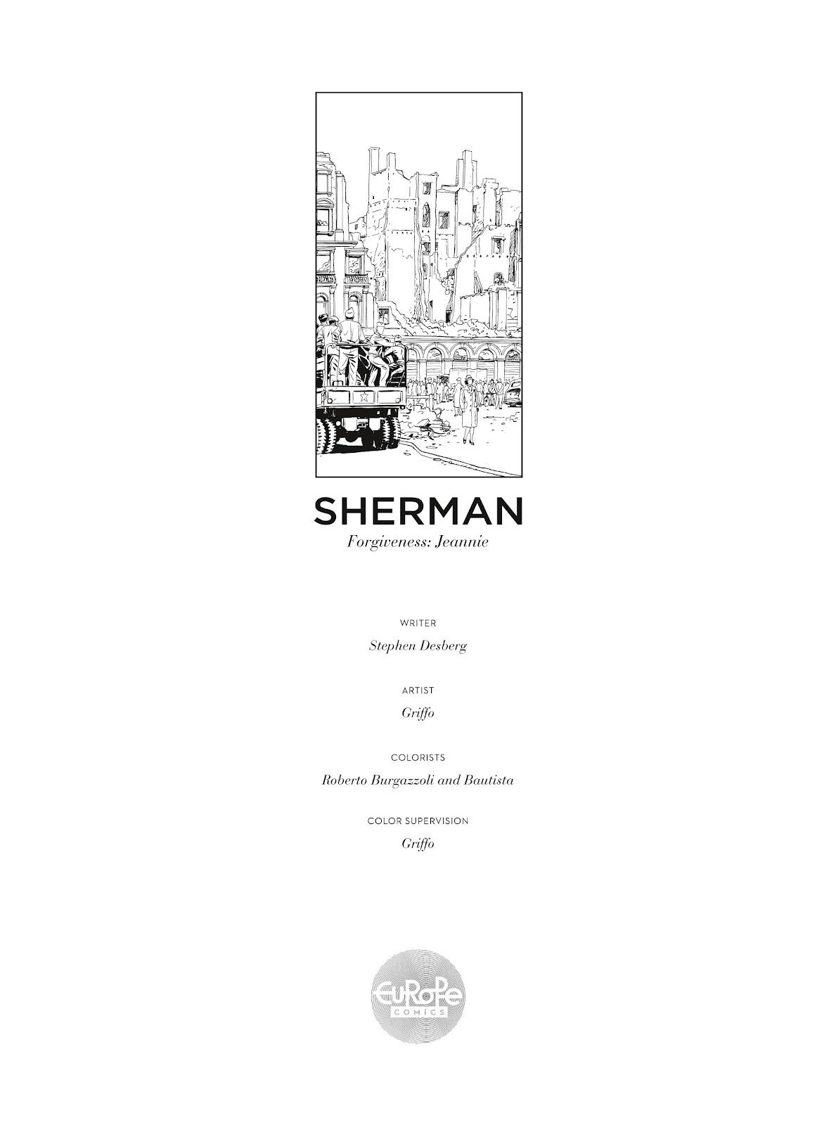 Read online Sherman comic -  Issue #6 - 2