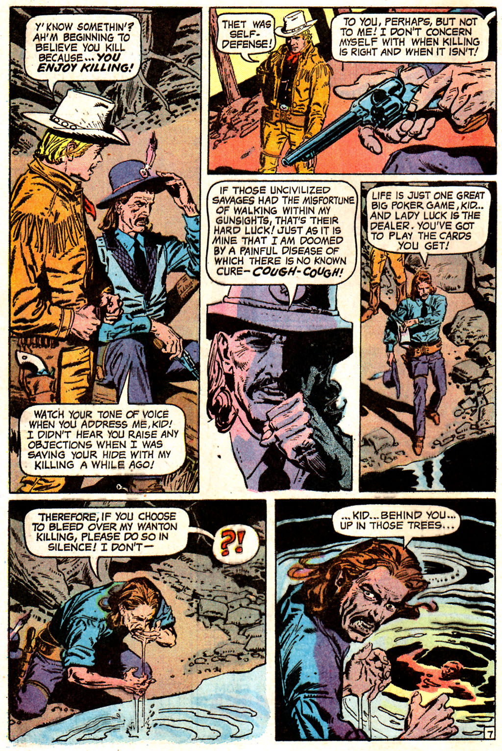 Read online All-Star Western (1970) comic -  Issue #7 - 10