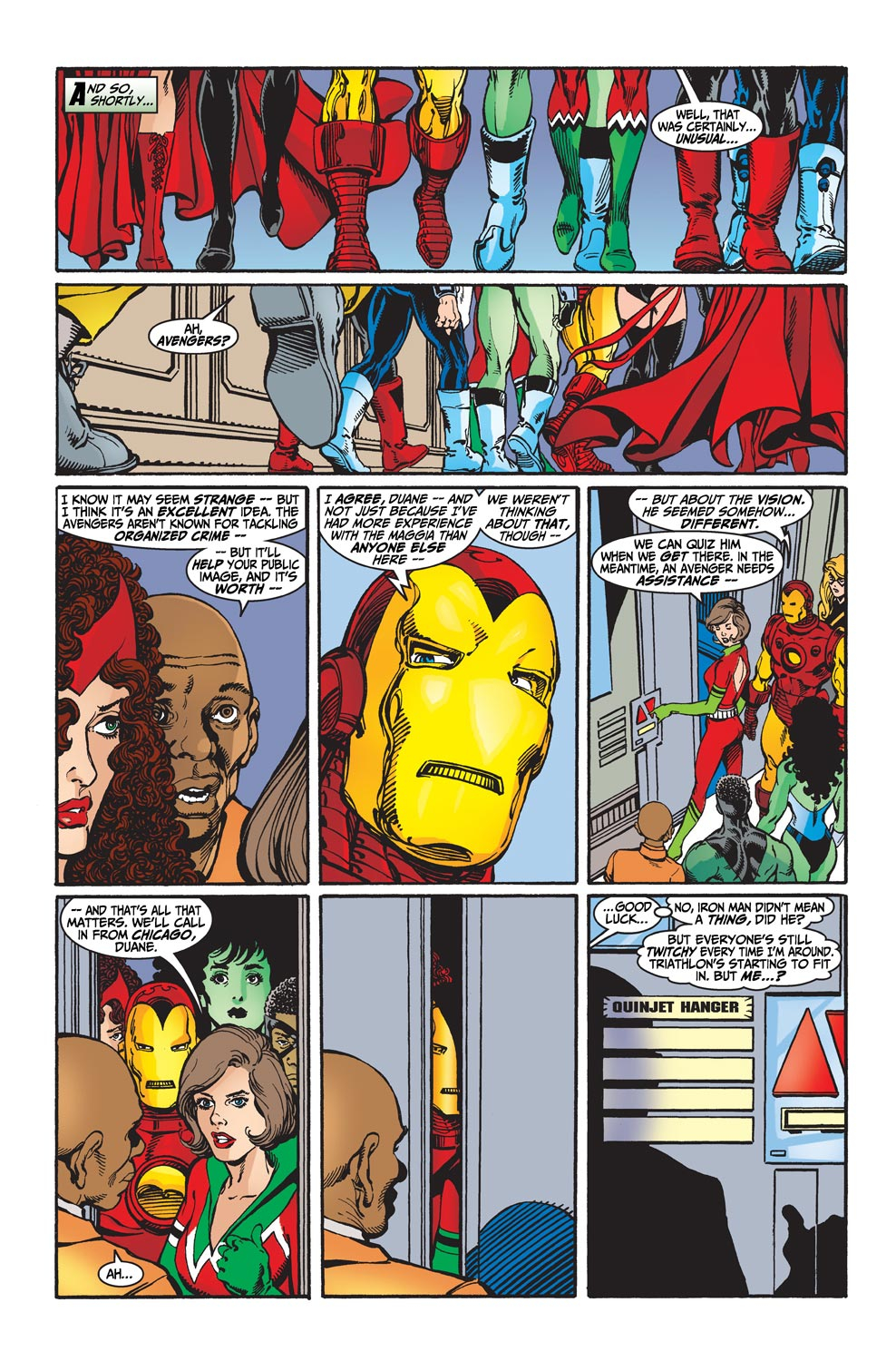 Read online Avengers (1998) comic -  Issue #31 - 12