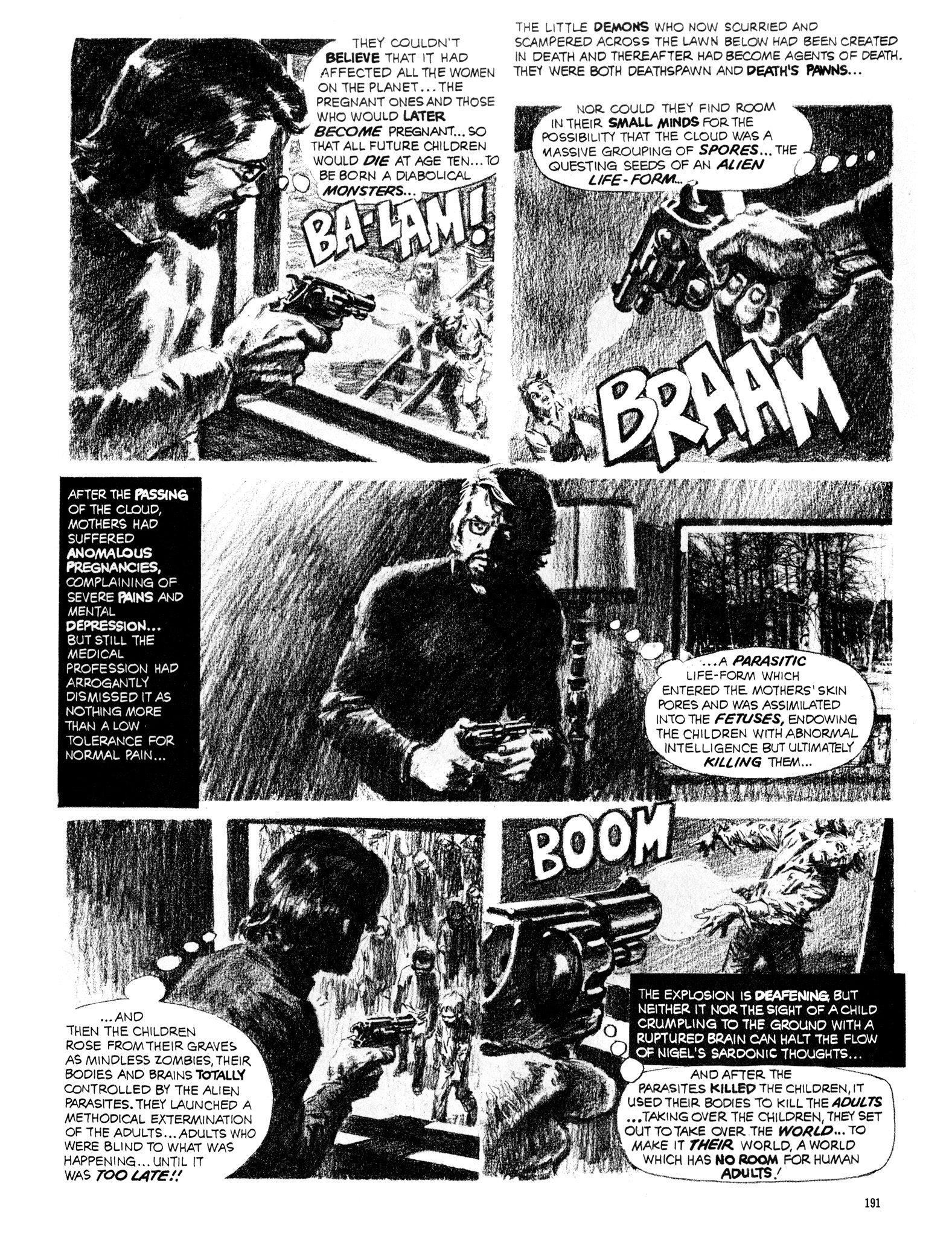 Read online Eerie Archives comic -  Issue # TPB 16 - 192