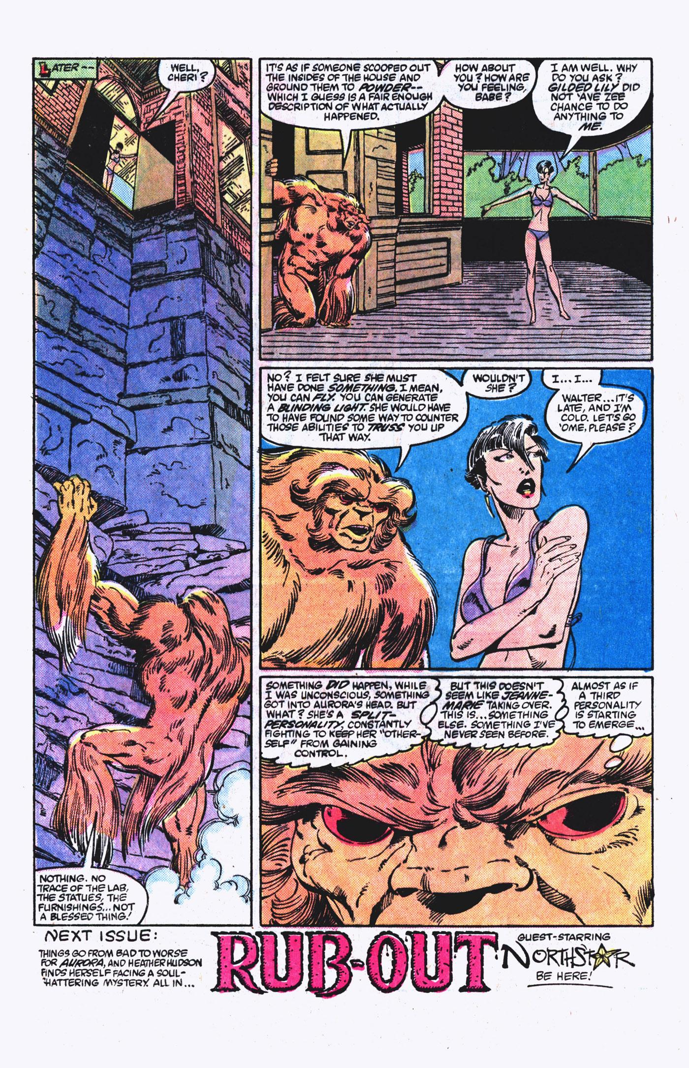 Read online Alpha Flight (1983) comic -  Issue #21 - 23