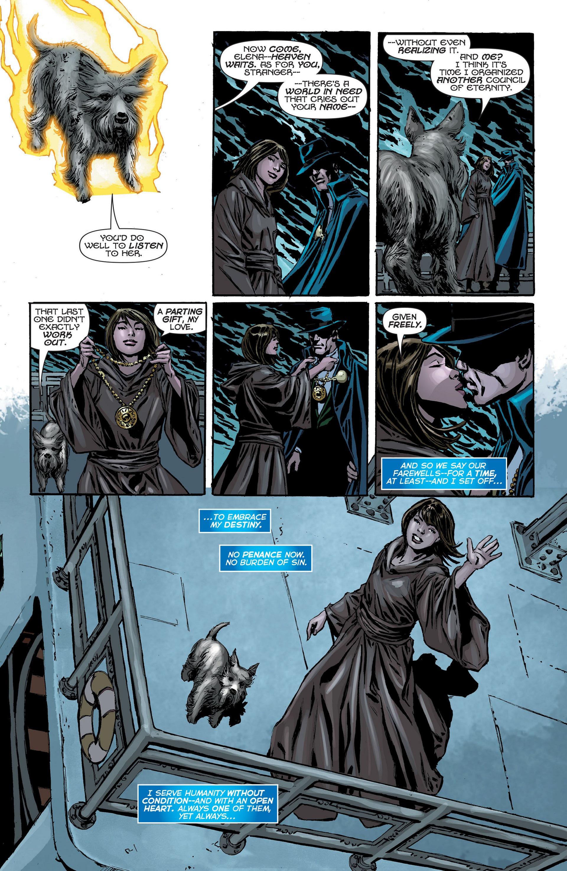 Read online Trinity of Sin: The Phantom Stranger: Futures End comic -  Issue # Full - 20