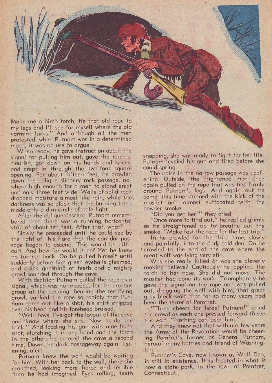 Read online Animal Comics comic -  Issue #30 - 36