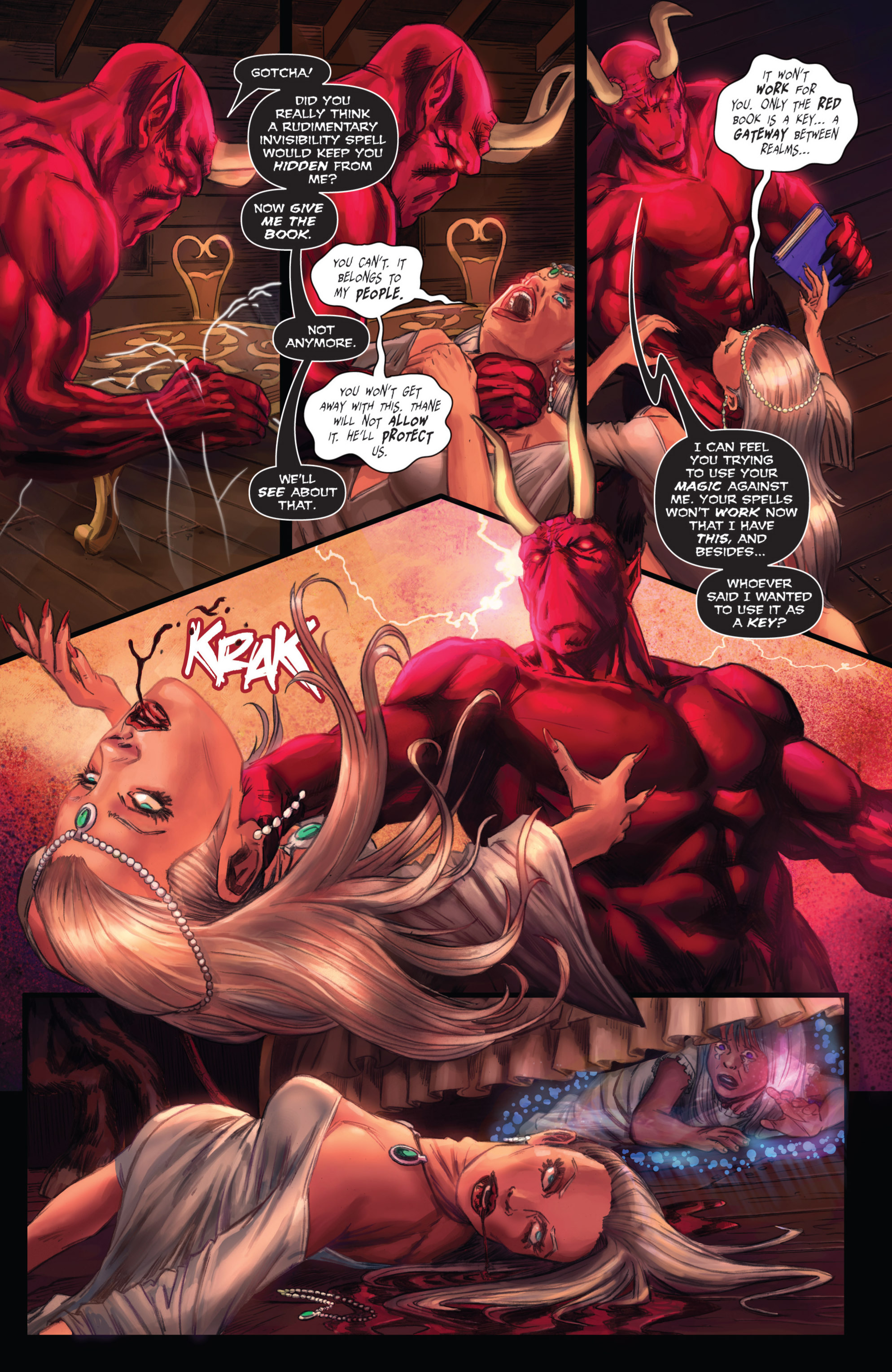 Read online Grimm Fairy Tales presents Grimm Universe comic -  Issue # TPB - 170
