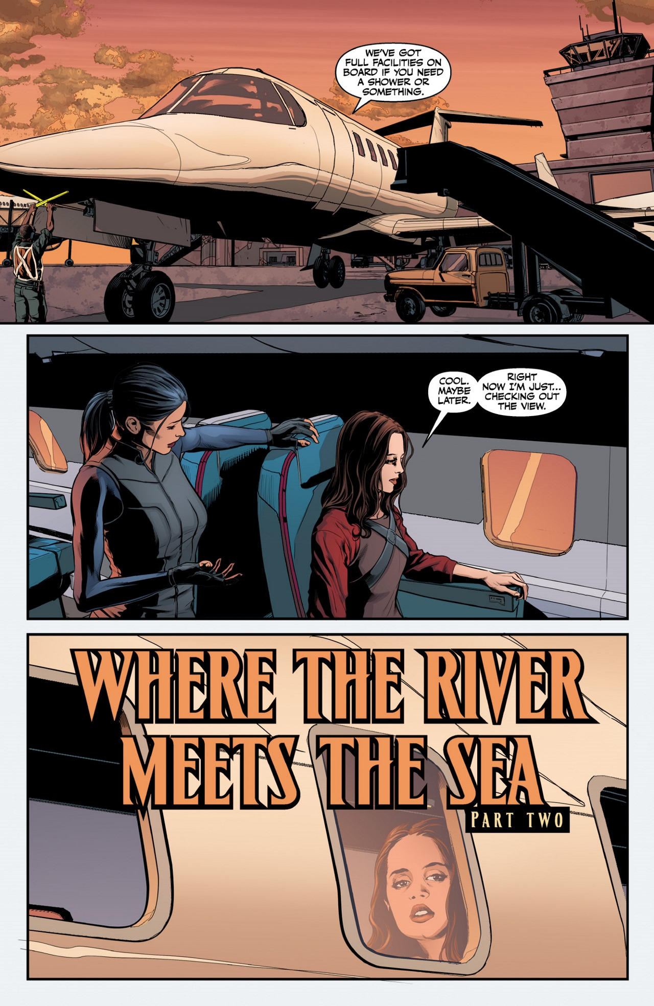 Read online Angel & Faith Season 10 comic -  Issue #2 - 3