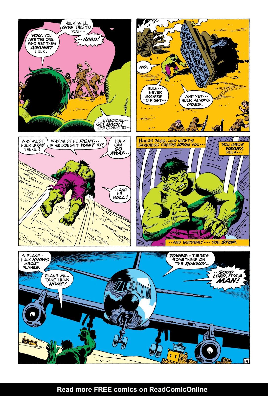 Read online Marvel Masterworks: The Incredible Hulk comic -  Issue # TPB 8 (Part 1) - 55