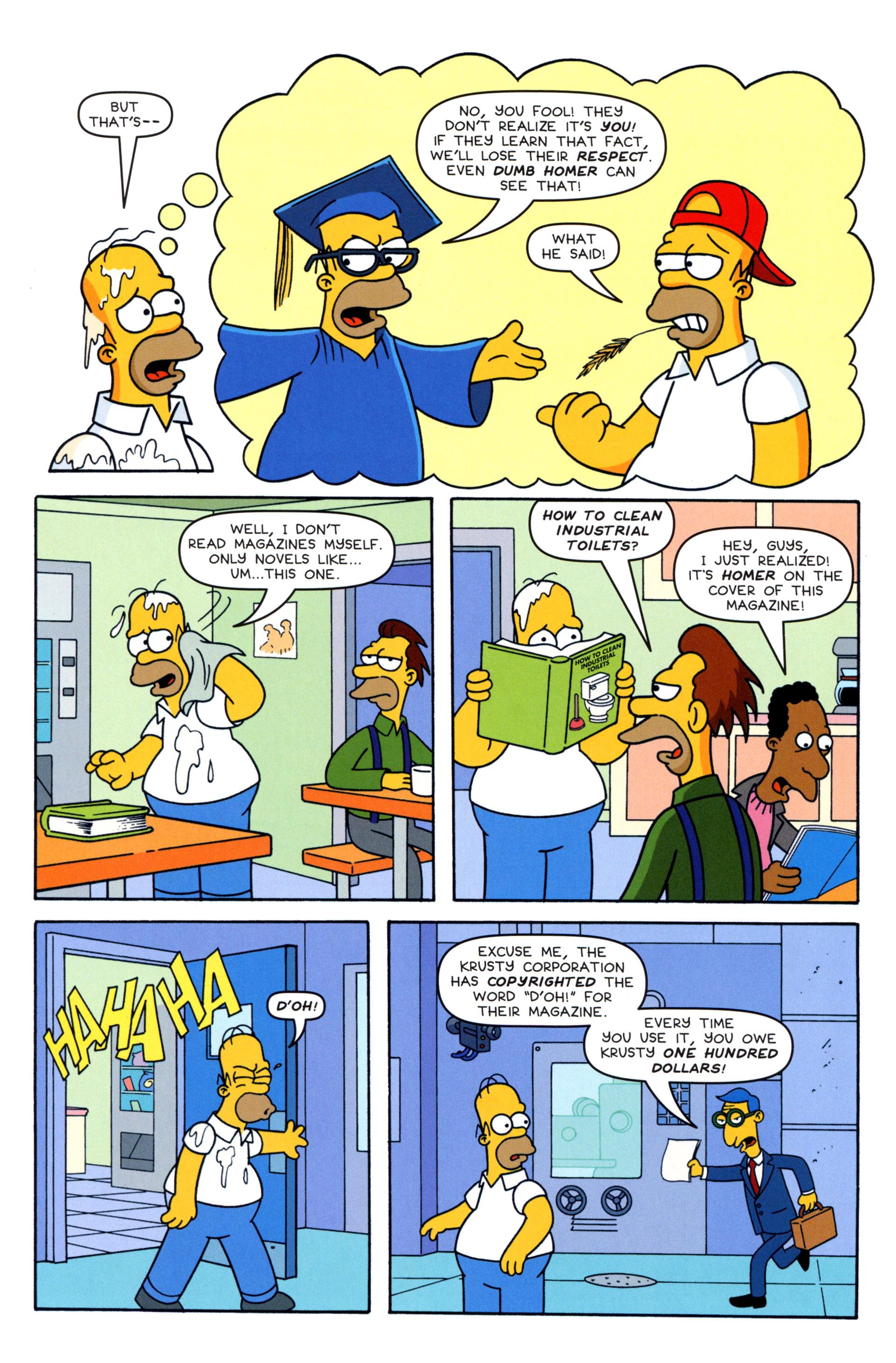 Read online Simpsons Comics comic -  Issue #203 - 12
