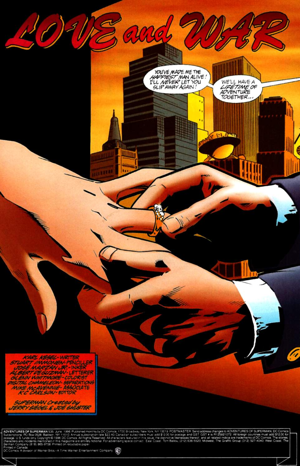 Read online Adventures of Superman (1987) comic -  Issue #535 - 2