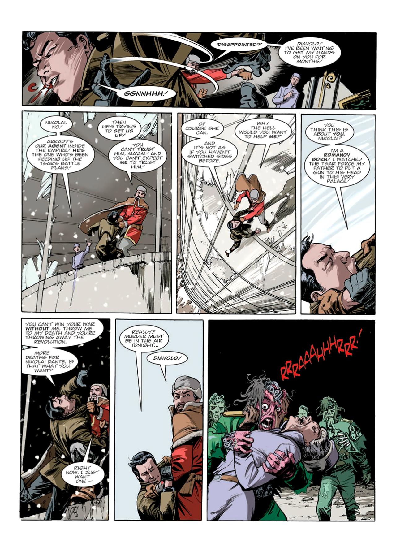 Read online Nikolai Dante comic -  Issue # TPB 9 - 150
