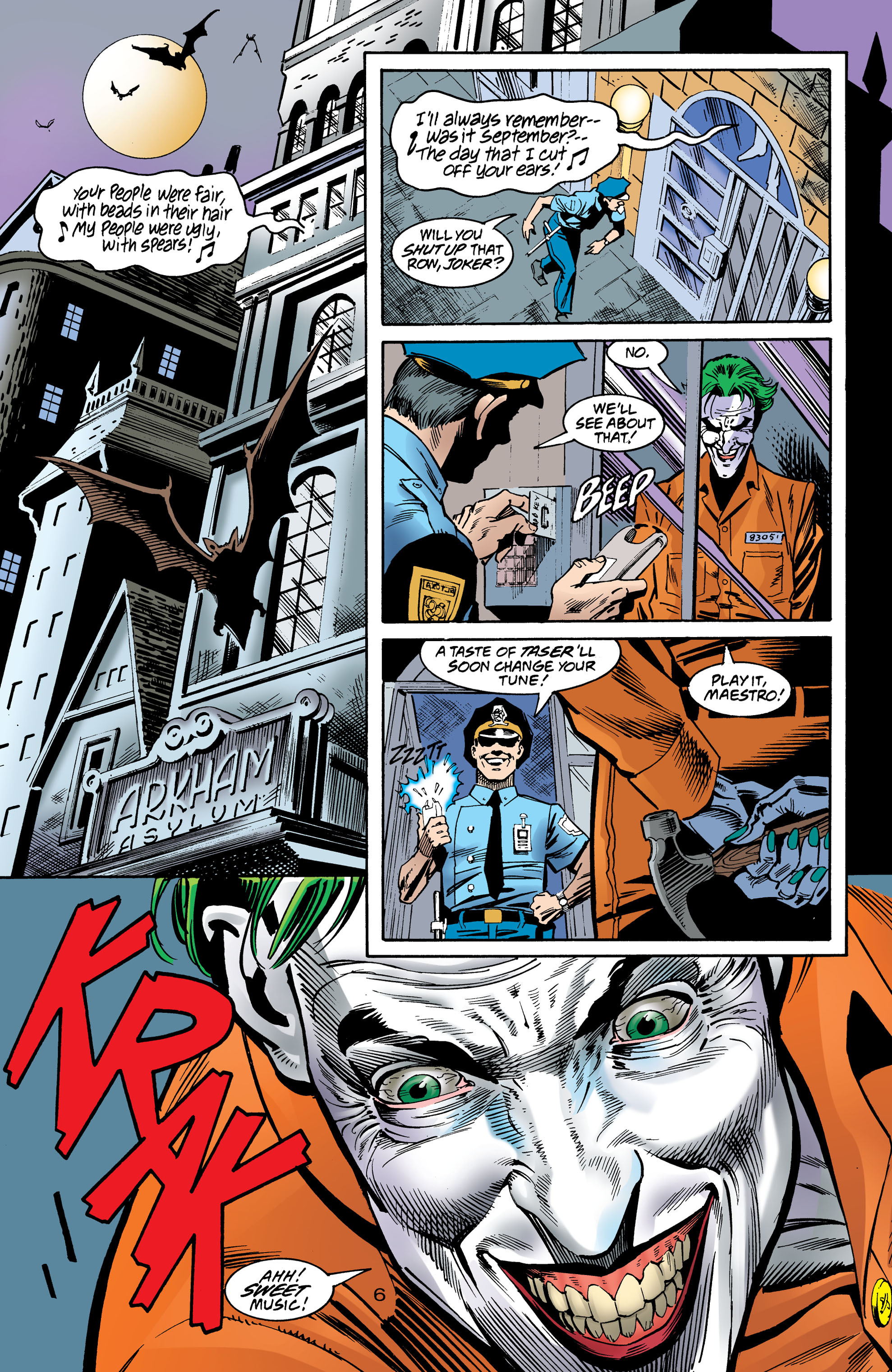 Read online Anarky (1999) comic -  Issue #8 - 7