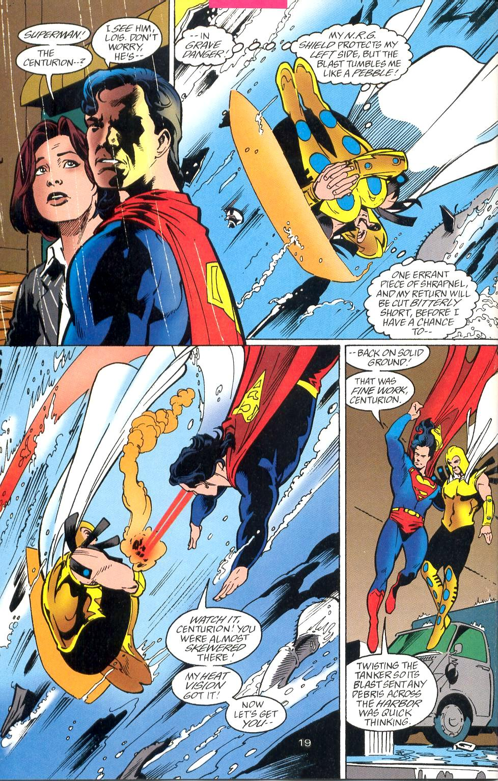 Read online Adventures of Superman (1987) comic -  Issue #527 - 20