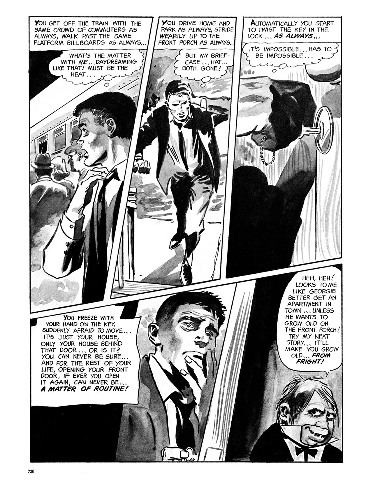 Read online Eerie Archives comic -  Issue # TPB 1 - 231