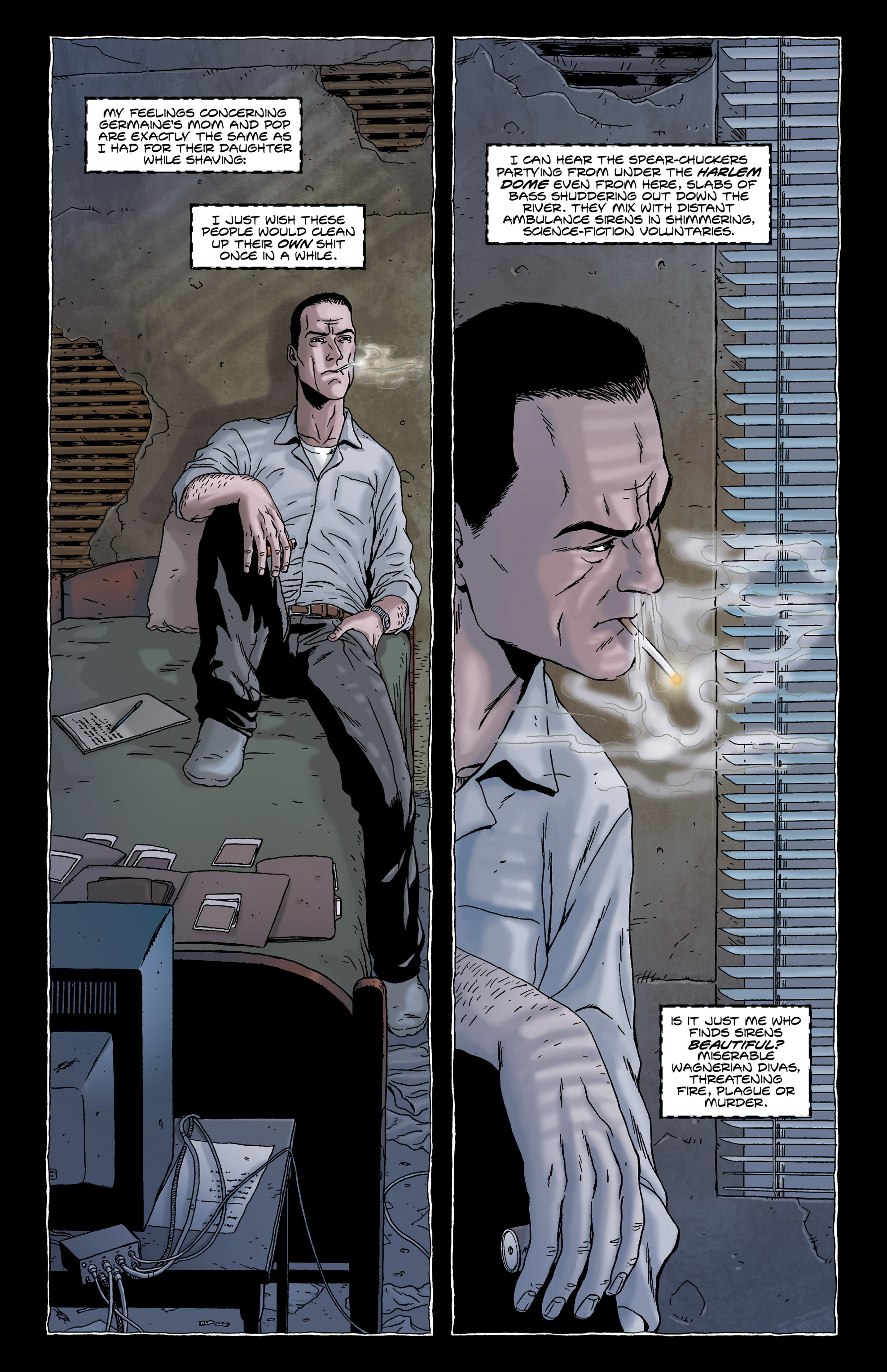 Read online Alan Moore's The Courtyard comic -  Issue # TPB - 10