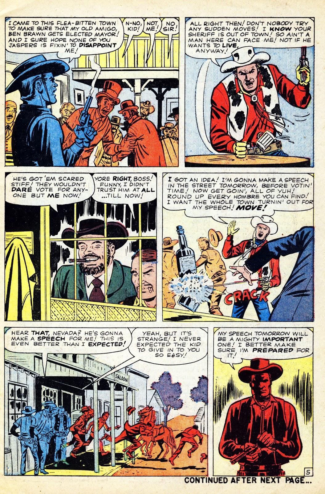 Gunsmoke Western issue 65 - Page 7