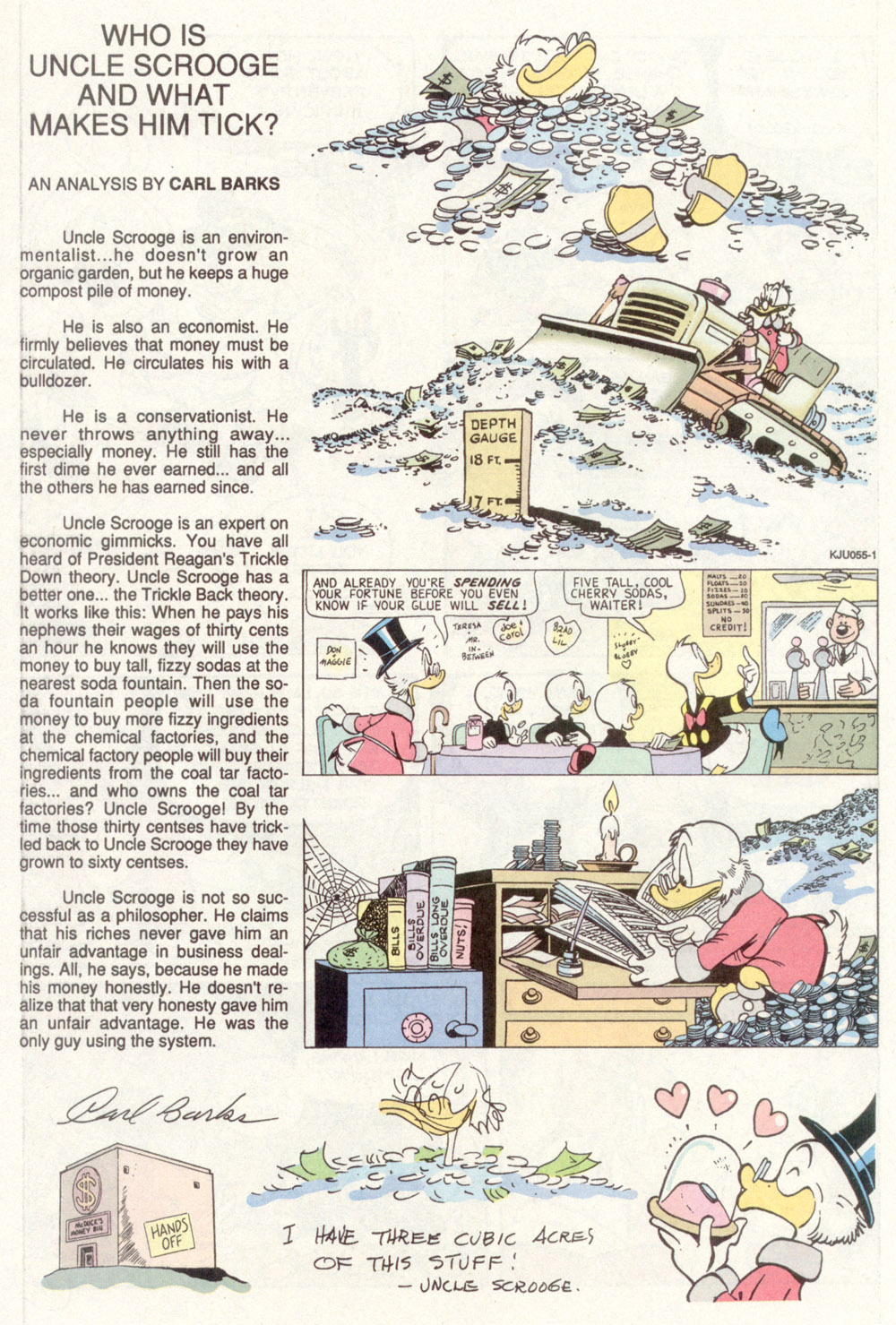 Read online Uncle Scrooge (1953) comic -  Issue #266 - 30