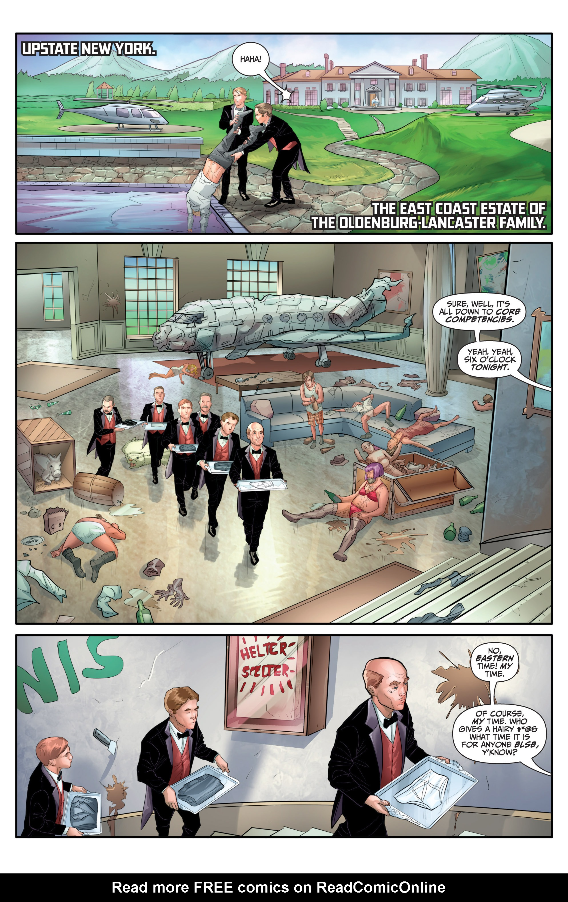 Read online Archer and Armstrong comic -  Issue #Archer and Armstrong _TPB 7 - 54