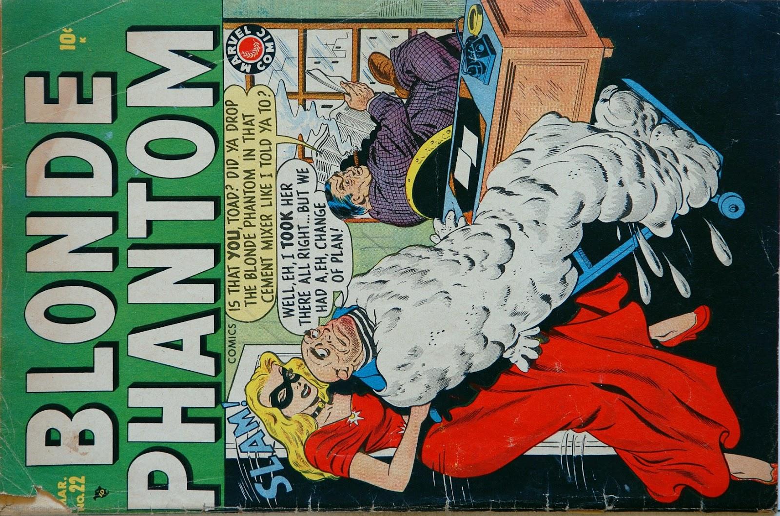 Blonde Phantom Comics 22 Page 1