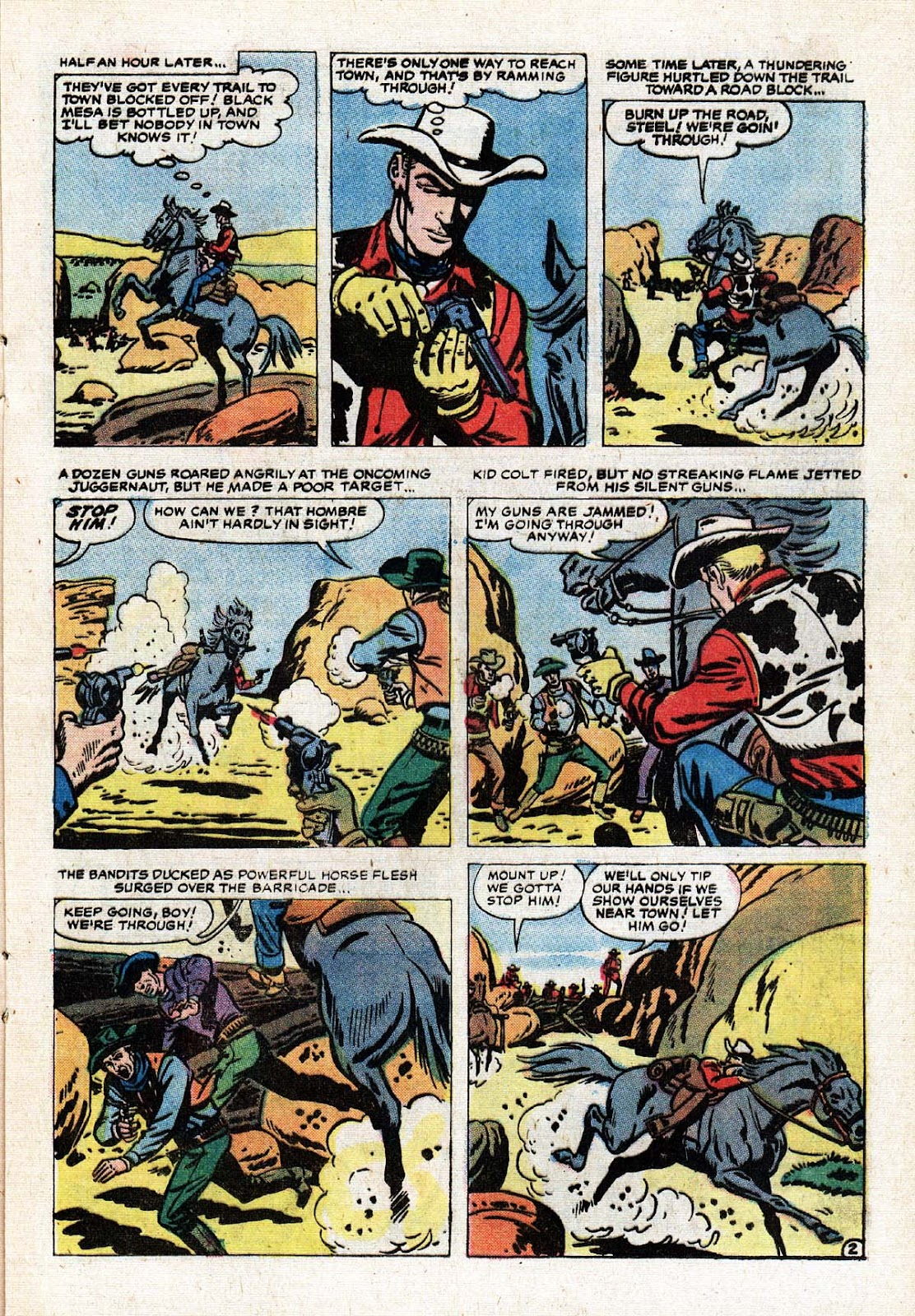 The Mighty Marvel Western issue 15 - Page 21