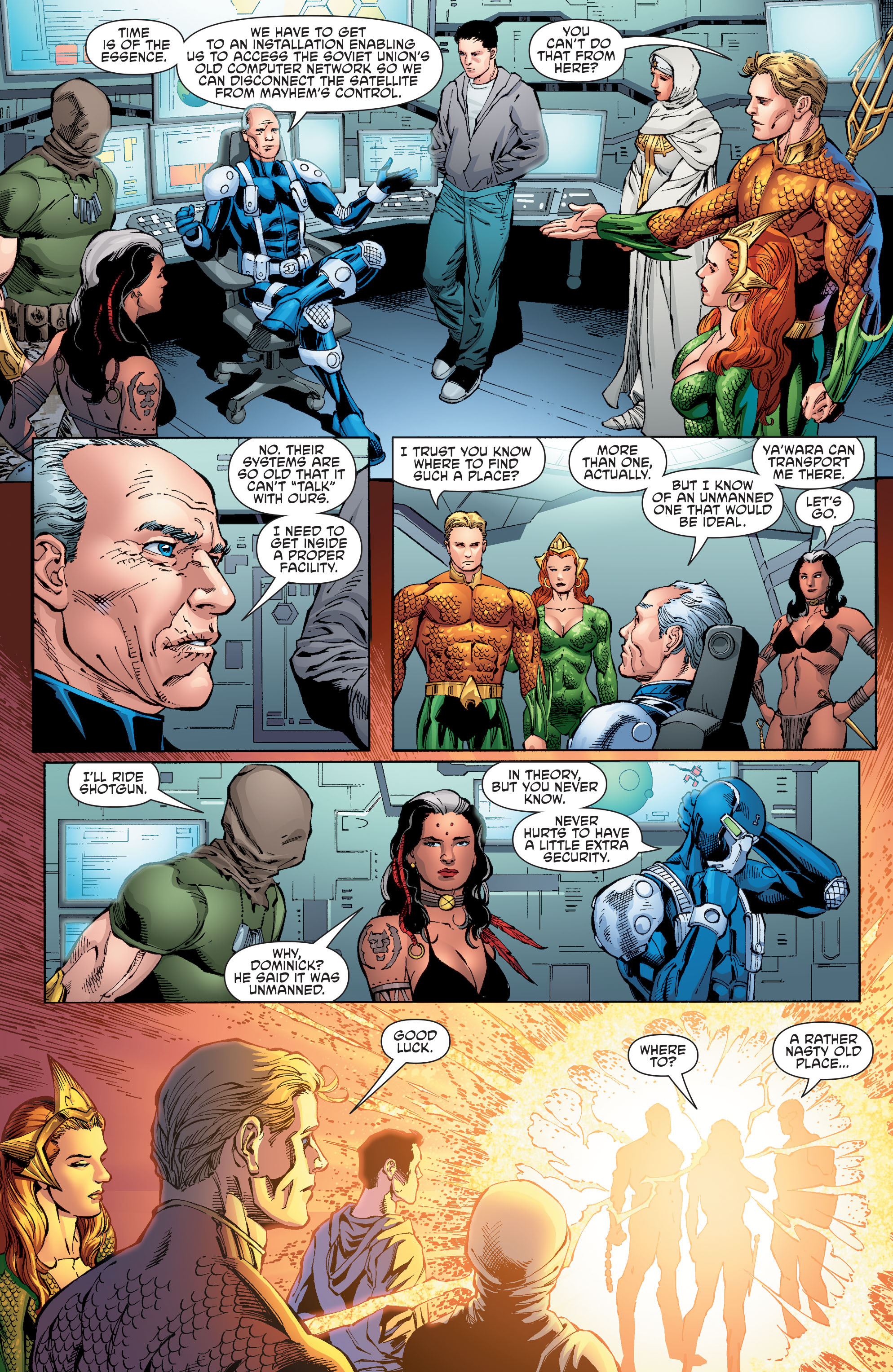 Read online Aquaman and the Others comic -  Issue #8 - 17