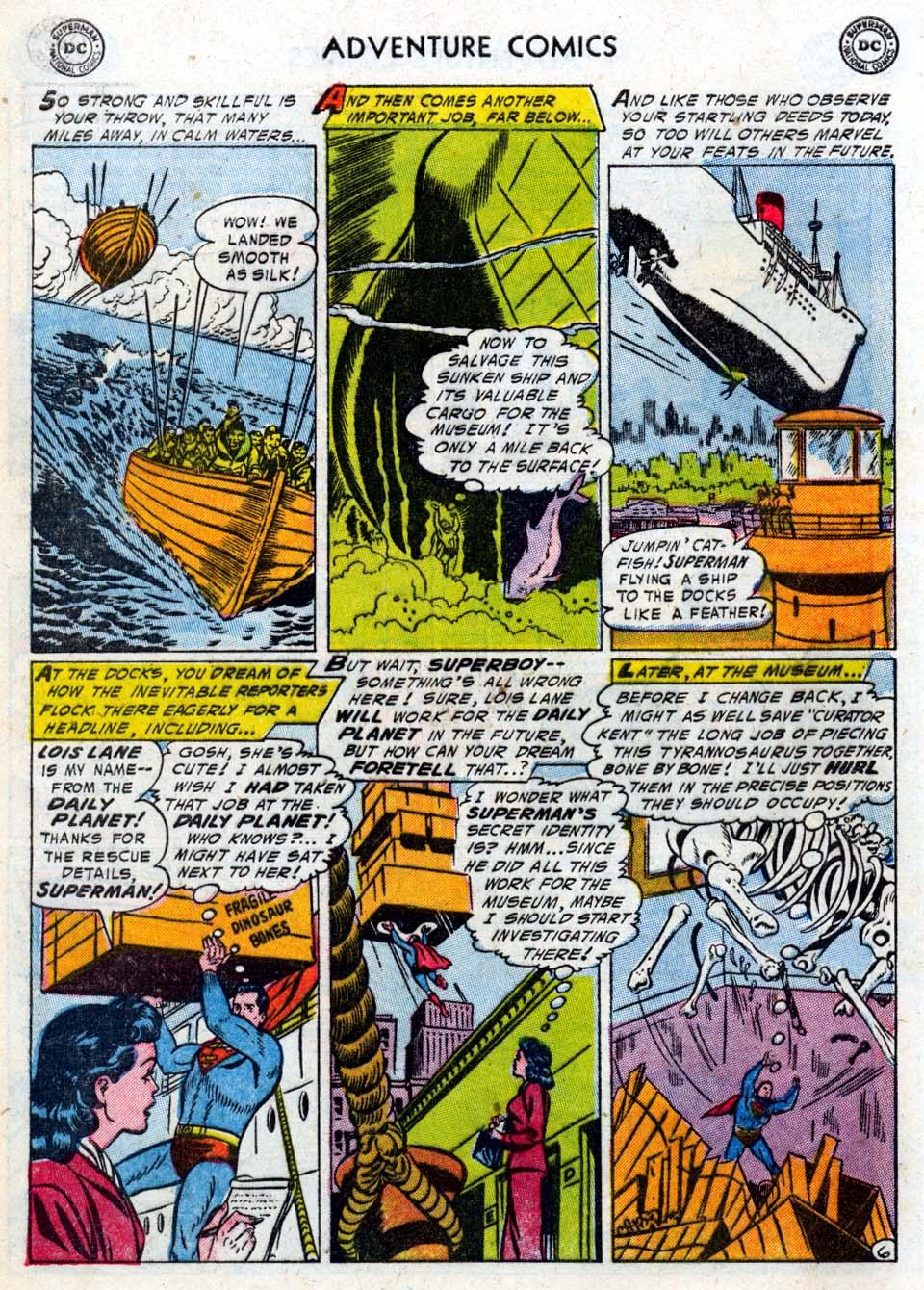Read online Adventure Comics (1938) comic -  Issue #211 - 8