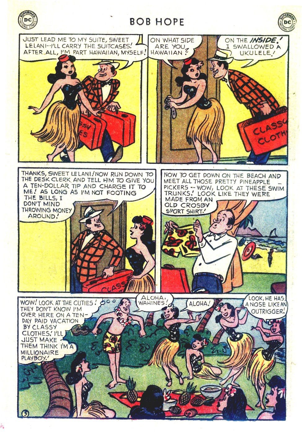 The Adventures of Bob Hope issue 27 - Page 19