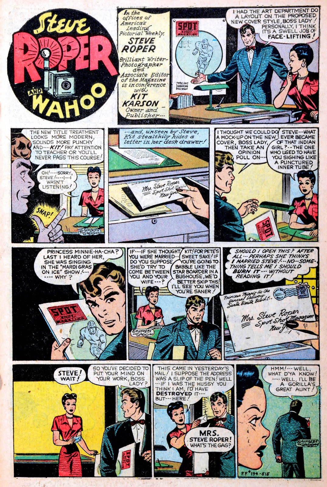 Read online Famous Funnies comic -  Issue #194 - 3
