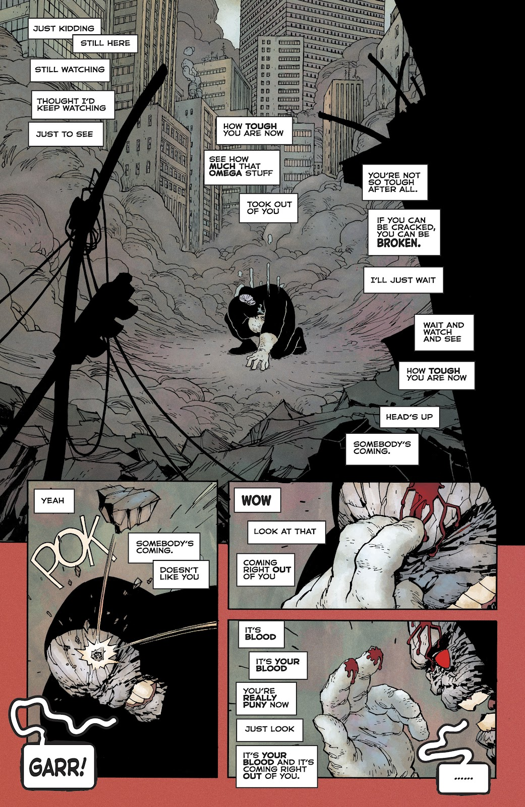 Dark Knight Returns: The Golden Child issue Full - Page 49