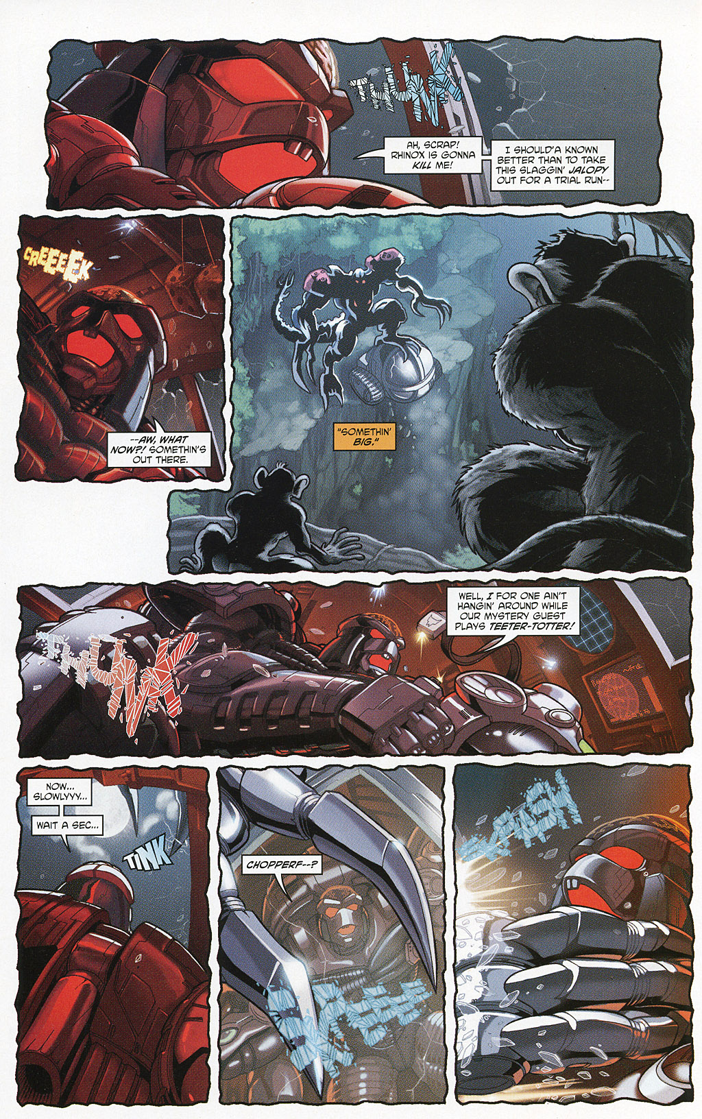 Read online Transformers 20th Anniversary Summer Special comic -  Issue # Full - 35